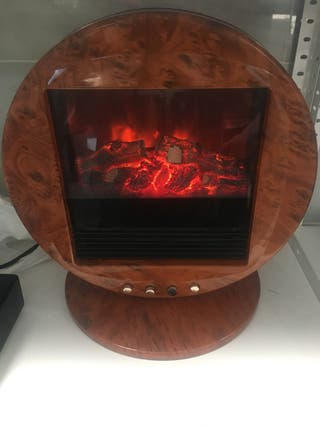 Calefactor diseño simulador ascuas chimenea