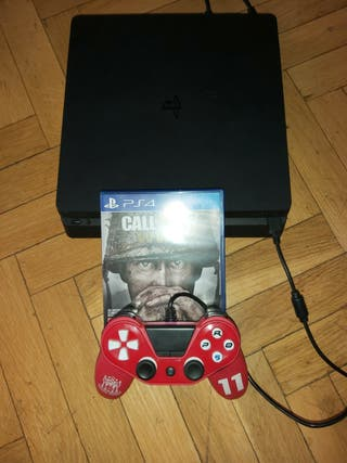 PS4 SLIM Mando + Call of duty WWII