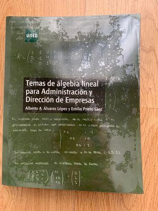 Temas de álgebra lineal UNED