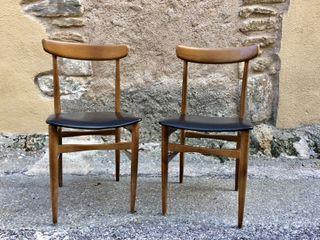Set 2 sillas diseño escandinavo