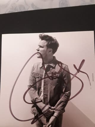 Olly Murs Never Been Better Deluxe Edition firmado
