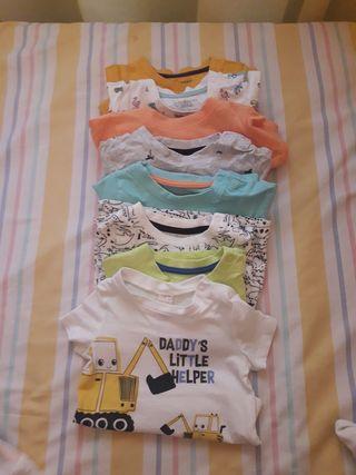Lote camiseta de niño