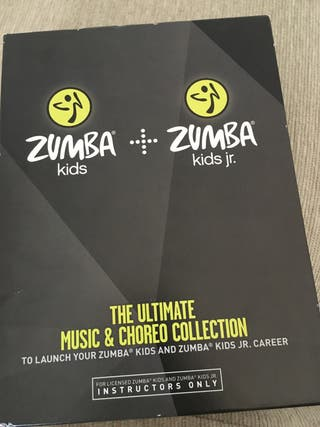 Zumba kids & kids junior completo dvds + cds