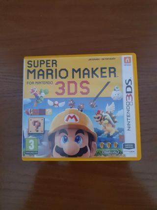 Súper Mario maker nintendo 3ds