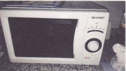 Microondas con grill marca Sharp