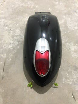 Guardabarros trasero kawasaki vn 900 custom