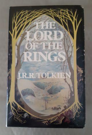 Libro trilogía completa El señor de los anillos