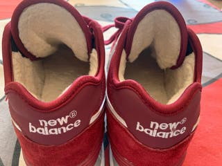 New Balance 574 Granate