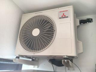 Aire acondicionado inverter2x1 Mitsubishi MSZA09YV de