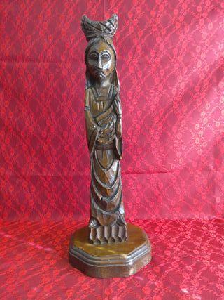 Escultura religiosa talla madera