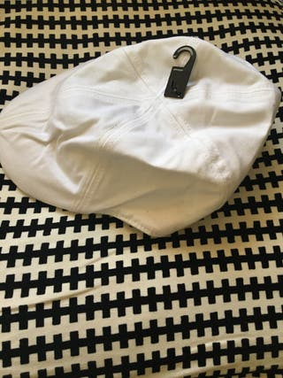 Lote 7 gorras blancas tipo boina italiana de h@m