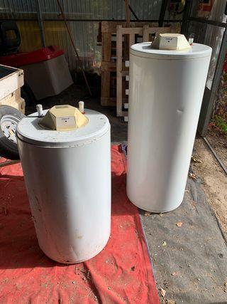 Calentadores EDESA de 100 litros y 150 litros