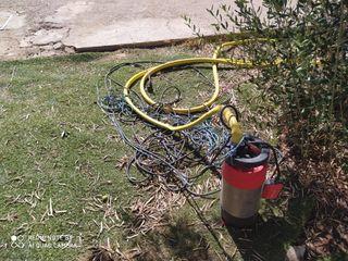 Bomba de extracción de agua en garantía nueva