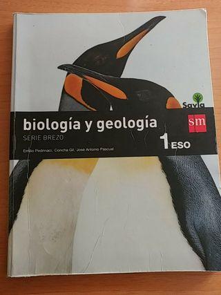 Libro biología y geología 1 primero ESO