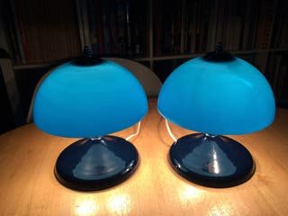 Set 2 lamparitas de noche vintage