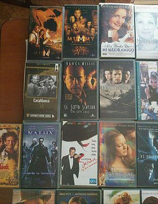 28 películas cine cintas VHS