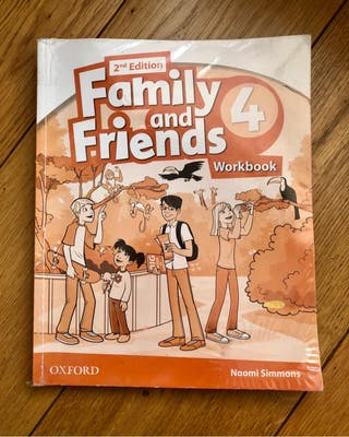 Workbook Family and Friends 4° Primaria