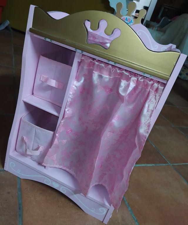 cumbiador/armario de baby born