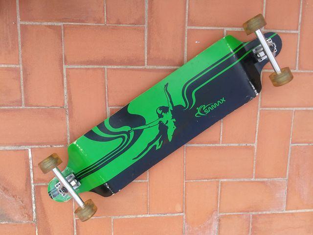 Longboard Monopatín Skateboard