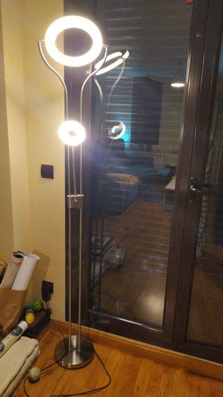 lampara de salón de pie