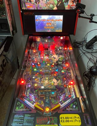 Vendo pinball Elvira House of horrors