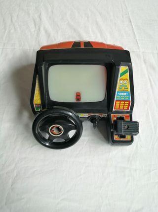 Coche Video Juego Vintage