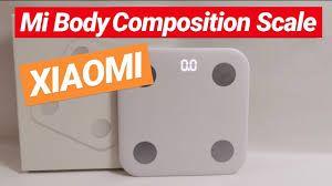 Báscula Digital Xiaomi Mi Body Composition Scale