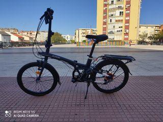 se vende bicicleta plegable bi till 500