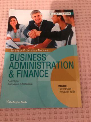 Libro inglés técnico fp superior de administración
