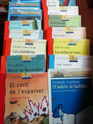 Libros/Llibres el barco/vaixell de vapor