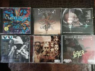 CD's metal, trash,...