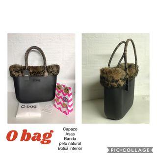 BOLSO O bag NEGRO GRANDE + complementos