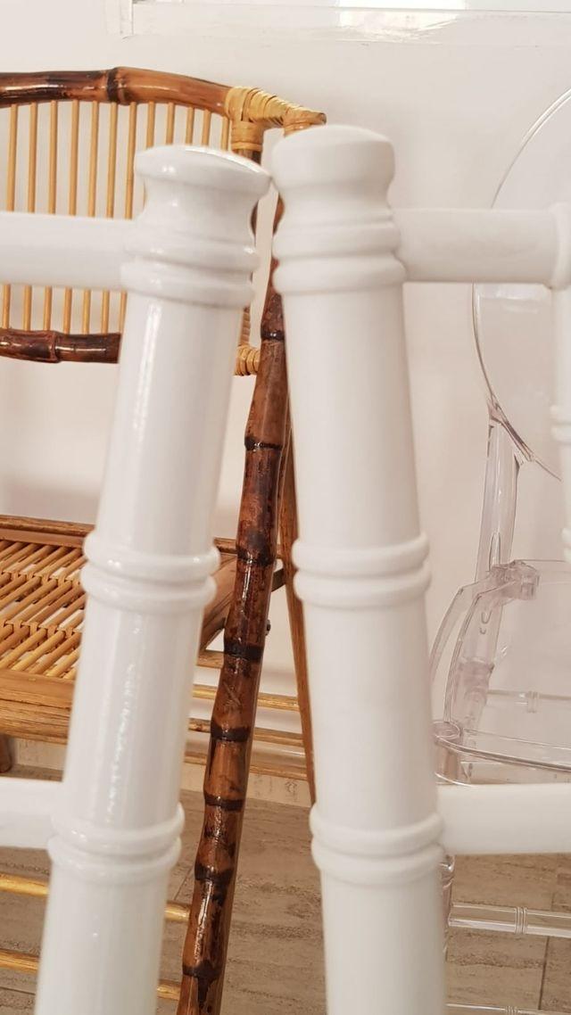 Silla Tiffany blanca