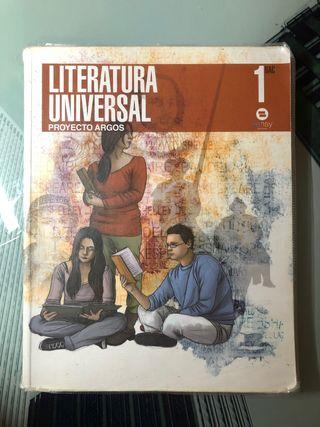Libro de Literatura universal 1 bach