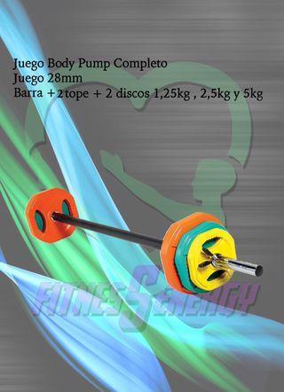 Body Pump kit completo