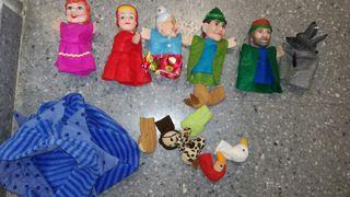 marionetas de cuentos y de dedo de Ikea