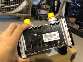 Radiador mercedes c220 glc cla