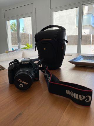 Camara Canon EOS rebel T1i EOS 500D