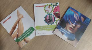 3 libros peluquería y estética