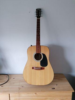 Guitarra Dakota y funda Boston