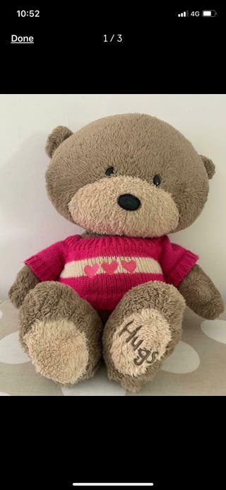 Hugs teddy bear