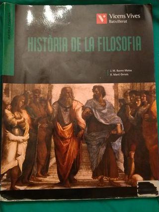 Batxillerat Història de la filosofia(Bachillerato)