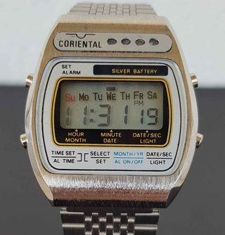 924-Reloj CORIENTAL, digital, VINTAGE. NOS