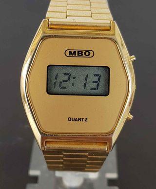 926-Reloj MBO, digital, VINTAGE. NOS