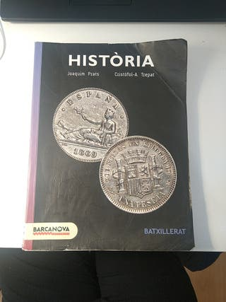 Libro de historia Barcanova 2° Bachillerato