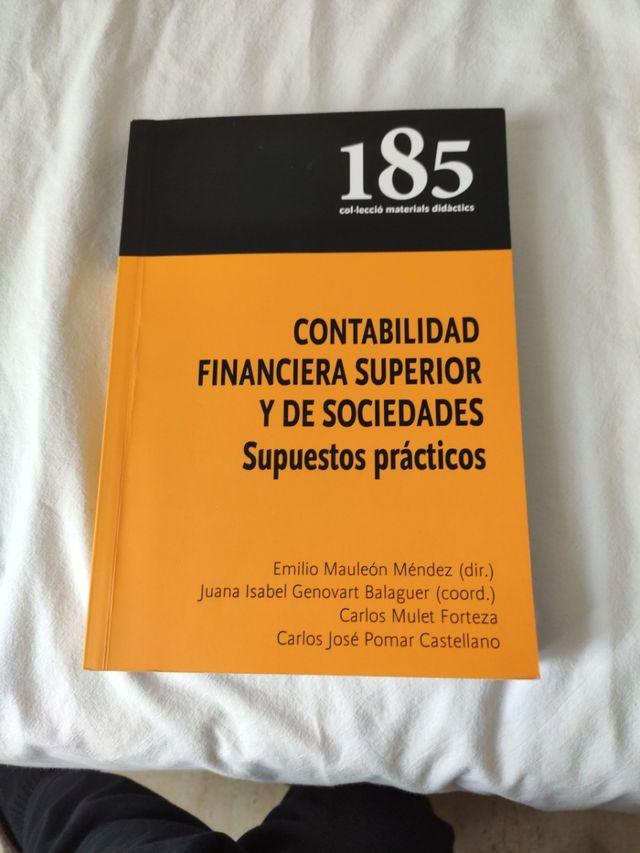 Contabilidad Financiera Superior Y De Sociedades De Segunda Mano Por 15 En Palma De Mallorca En Wallapop