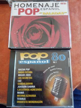 Colección música pop español