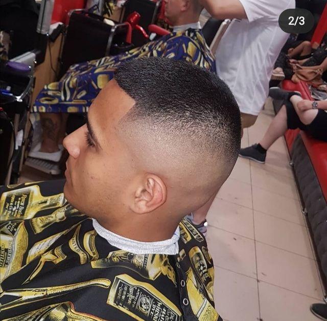 peluquería de caballero