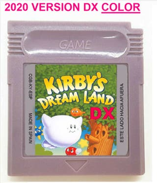 2020 KIRBY'S DREAM LAND DX COLOR GAMEBOY GAME BOY