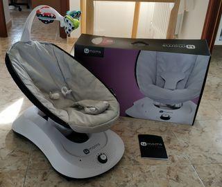 Hamaca Eléctrica Compacta para Bebés 4moms